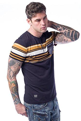 Koroshi Herren T-Shirt Ocker