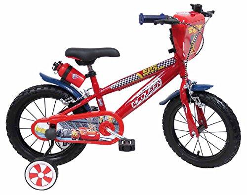 Disney Bicicletta 14' Cars 3, Bambino, Rosso