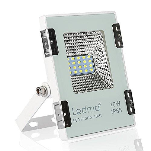 LEDMO focos led 10W blanco frío,990LM focos exterior led SMD2835 IP65 impermeable...