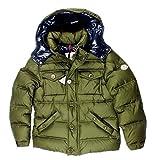 Piumino Moncler LUSR02 Verde Militare