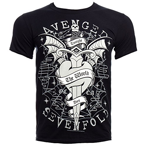 Avenged Seven fffd Cloak And Dagger T-shirt da uomo (Nero) Nero