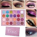 Portable 24 Colors Eye Shadow Highlight Face Eyeshadow Highlighter Powder Makeup (Multicolor)