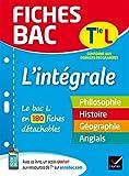 Fiches bac L'intégrale Tle L : le bac L en 200 fiches de révision (French Edition)