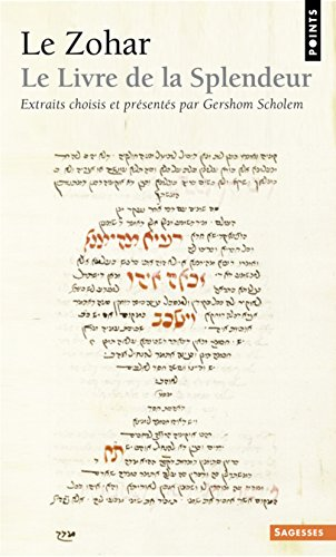 Le Zohar : Le livre de la splendeur par Gershom Scholem