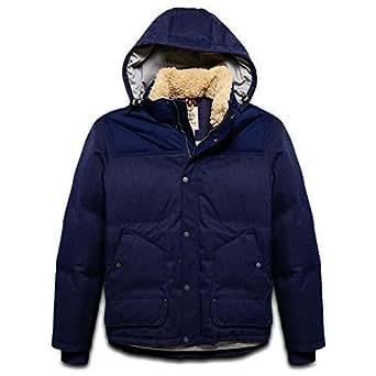 Timberland Blouson Pour Hommes Shrewsbury Peak Down Jacket Taille M - bleu foncé, Homme, M