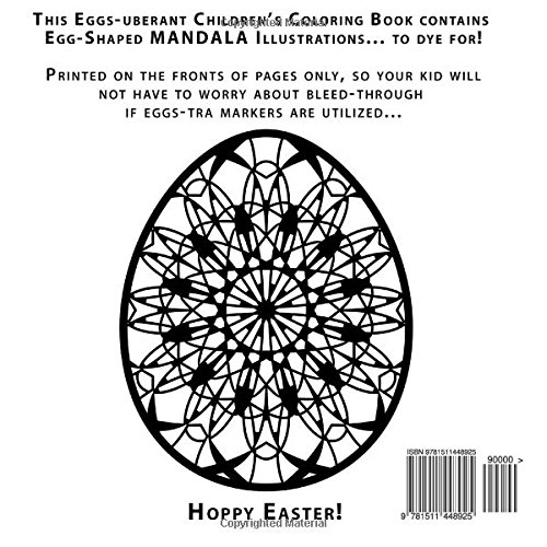 Mandala Easter Eggs: Coloring Book