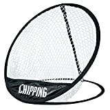 LONGRIDGE Golf Equipment POP UP Chipping NET, Black/White