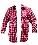 Komplett gepolstert, Kunstfell, Fleece-Jacke dicke Holzfällerhemd zip NEW, S, M, L, XL, XXL
