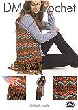 DMC Ladies Gilet with Tassels Petra Crochet Pattern