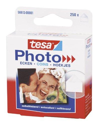 tesa Photo Ecken, Packung mit 250 Stück