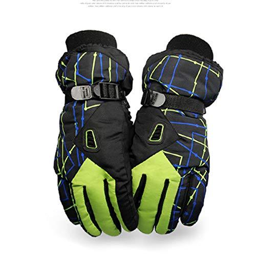 H_y Ski Herren wasserdichte Handschuhe, Professionelle Taslan Handschuhe Ski Furnier Reisen wasserdichte Handschuhe -