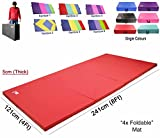 Best Gymnastics Mats - Xn8 Sports Yoga Four (4) Folding Mat 5cm Review