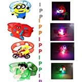 IPP LED Light Rakhi For Brother Kids Rakhi For Kids Rakhi Gift For Brother Rakshabandhan Special Rakhi For Girls And Boys(Multi Cartoon Print) Set Of 2