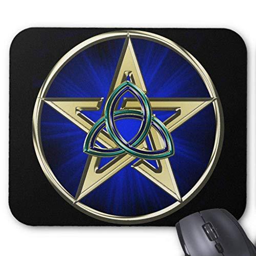 BGLKCS Triquetra Pentagram Mousepad