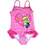 Maillot de bain 1 pièce Minions Stuart Fille I Only Have Eyes For you