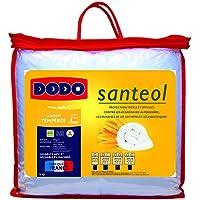 Dodo Santeol Couette 140 x 200 cm Tempérée Synthétique Anti Insectes : Anti Mites + Anti Moustiques + Anti Punaises de Lit