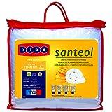 Dodo Santeol Couette 200 x 200 cm Tempérée Synthétique Anti Insectes : Anti Mites + Anti Moustiques + Anti Punaises de Lit