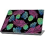 "MightySkins Protective, Durable, And Unique Vinyl Wrap Cover Skin For Microsoft Surface Laptop (2017) 13.3"" - Neon Tropics, Purple (MISURLAP-Neon Tropics)"