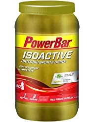 Powerbar Isoactive Sports Drink, Red Fruit Punch, 1er Pack (1 x 1320 g)