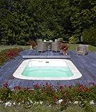 Schwimmbad mini blue vision Wellness mit Massagedüsen und Gegenstromanlage