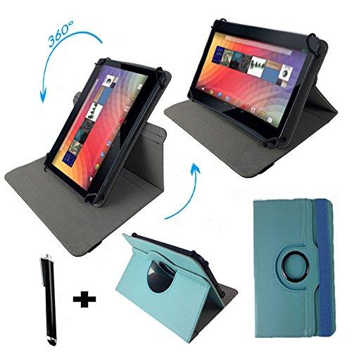 "Odys Orbit LTE Phablet 17,65 cm (6,95"") Tablet Pc Tasche mit 360 grad Dreh & Standfunktion - 6 - 6,95 Zoll Türkis 360"