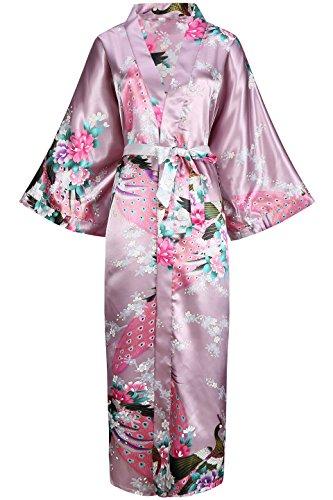 ArtiDeco Vestido Kimono Pijama Seda Bata Novia Kimono