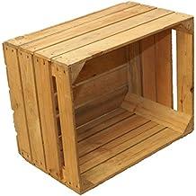 slido caja de madera caja de fruta caja de vino cajn de manzana usado shabby