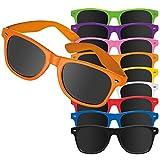 50 stück weiße Sonnenbrillen Mila mit Druck Werbung Logo bedrucken