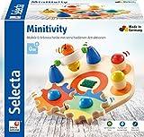 Selecta 62036 Minitivity, Motorikspielzeug aus Holz, 14 cm
