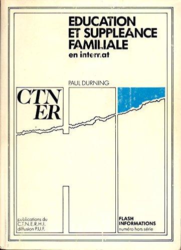 Education et suppléance familiale