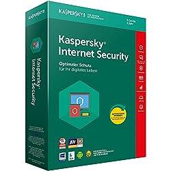 Kaspersky Internet Security 2018 Standard | 5 Geräte | 1 Jahr | Windowsmacandroid | Download
