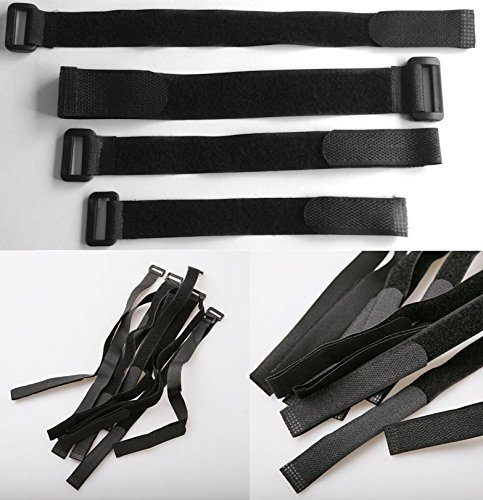 Cinturini di utilità Quick Release Zaino Compressione cinghia per bagagli 6cmx100cm 5 pezzi