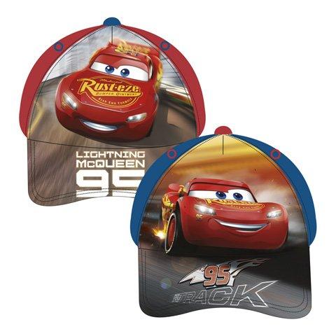 Cars AUSWAHL Baseball Cap Kappe Schirmmütze Kinderbaseballcap (Blau)