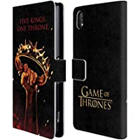 Official HBO Game Of Thrones One Throne Key Art Leather Book Wallet Case Cover For Sony Xperia Z2