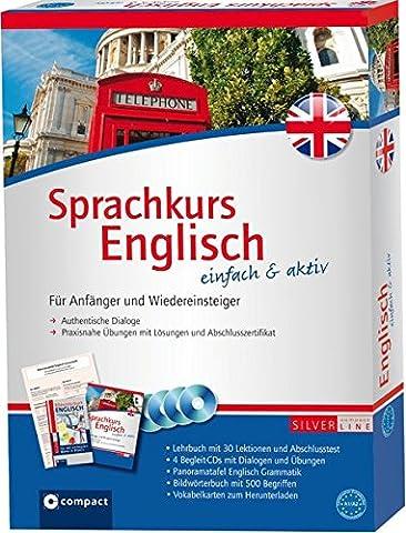 Compact Sprachkurs Englisch einfach & aktiv: Set mit 2 Büchern,