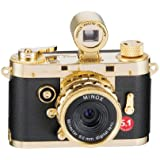 Minox - 60672 - DCC 5.1 Classic Appareil photo numerique 5,1 megapixels / Plaque or 24 carats (Import Allemagne)