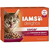 Iams Delights Senior Nassfutter