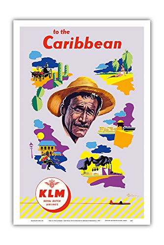 klm-to-the-caribbean-klm-royal-dutch-airlines-vintage-airline-travel-poster-by-leendert-spierenburg-