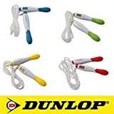 DUNLOP Digital LCD Sport Fitness Springseil Sprungseil Sprungzähler mit Zählfunktion