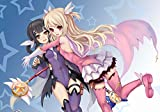 Pixiluv 2019 Anime Calendrier Mural (12 Pages 20,3 x 27,9 cm) Kaled Liner Prisma Illya Manga Kawaii Filles Calendrier 01