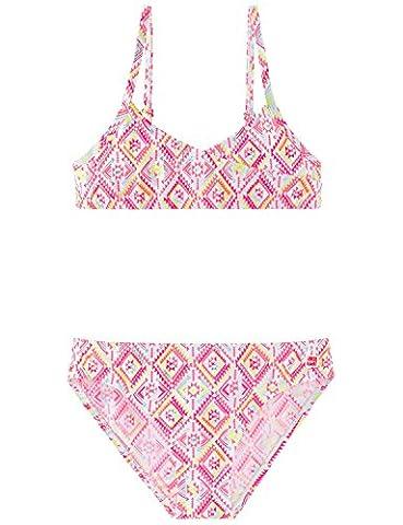 Schiesser Mädchen Bikini Aqua Bustier - Bikini 156012, Gr. 152,