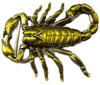 Scorpion d'or Boucle de ceinture en métal / Boucle Hommes Femmes Zodiac / échange Buckle 'Scorpion' par MyAccessoires
