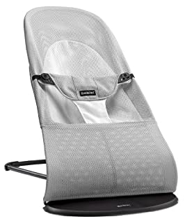 BABYBJÖRN Babywippe Balance Soft (Silber/Weiß, Netzmaterial) (B00AQMBXRG) | Amazon Products