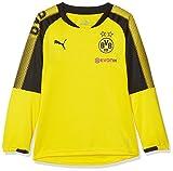 PUMA BVB  Jungen Unisex  Training Sweat with Sponsor Logo , Cyber Yellow Black, 152