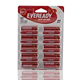Eveready Alkaline Batteries - Red AA, 10 Battery Pack