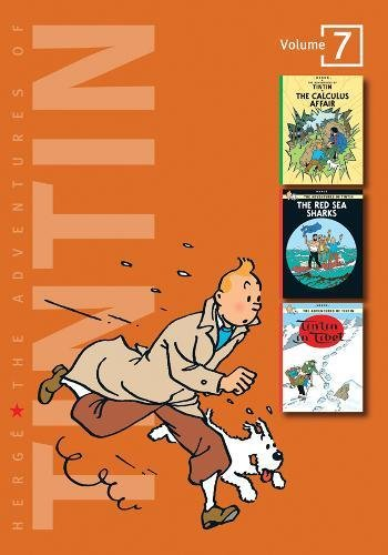 """The Adventures of Tintin: Volume 7 (Compact Editions): """"The Calculus Affair"""", """"The Red Sea Sharks"""", """"Tintin in Tibet"""" v. 7 (The Adventures of Tintin - Compact Editions)"""