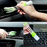 Gaddrt PP+PE Automotive Keyboard Supplies Versatile Cleaning Brush Vent Brush Cleaning Brush - 16.5x4x2cm