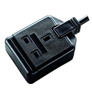 Masterplug EXS1315B 13amp 1 Socket 5 meter Heavy Duty Extension Lead - Black