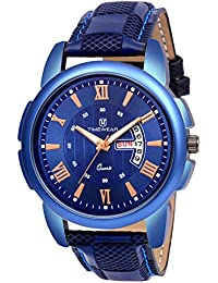 TIMEWEAR Analogue Men's Watch (Blue Dial)