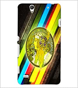 PrintDhaba Prince D-2970 Back Case Cover for SONY XPERIA C4 (Multi-Coloured)